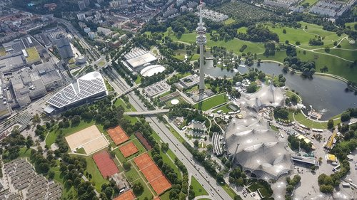 olympia  olympic park  munich