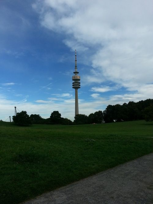 olympia tower munich olympic park