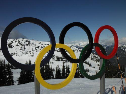olympic whistler rings