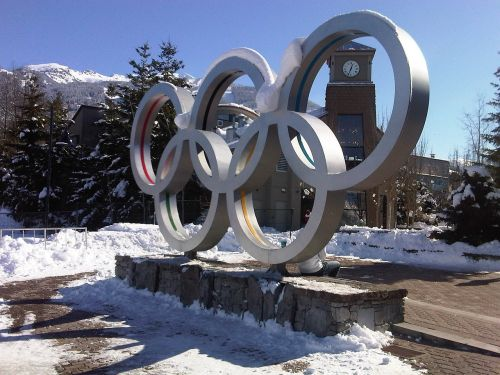 olympic rings whistler olympics