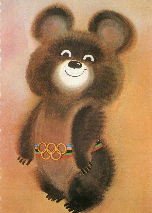 olympics mascot teddy bear
