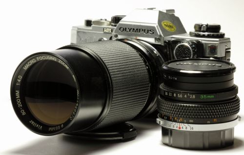 Olympus OM10FC With Lens Outfit