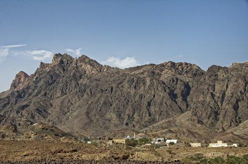 oman  region ad-dachiliyya  landscape