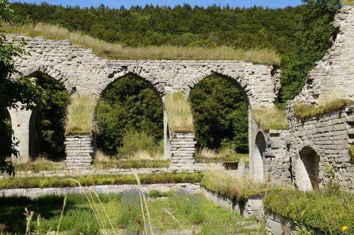 omberg sweden monastery ruins