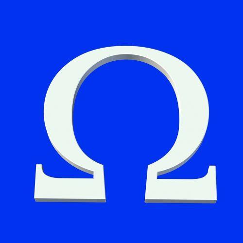 omega symbol icon