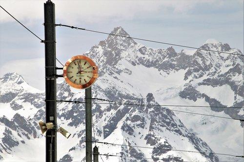 omega  zermatt  railway station
