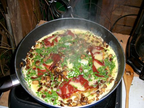 omelette mushroom omelette mushroom skillet