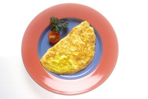 omelette eggs food