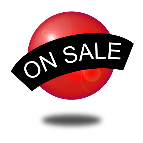 on sale icon web
