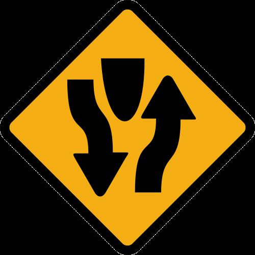 oncoming traffic opposing traffic two-way traffic