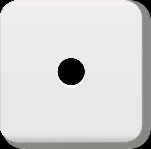 one dice eyes