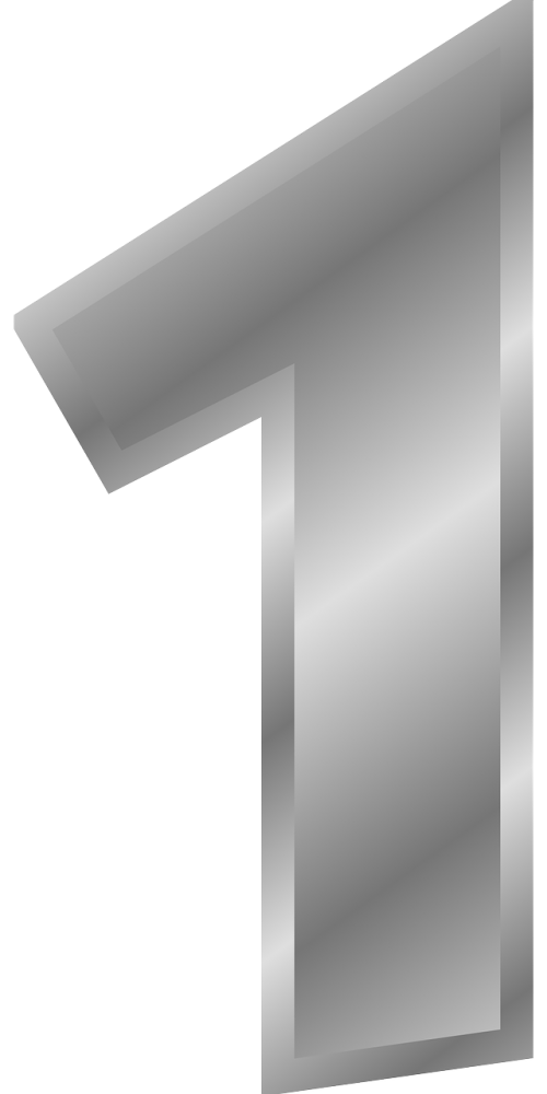 one number silver