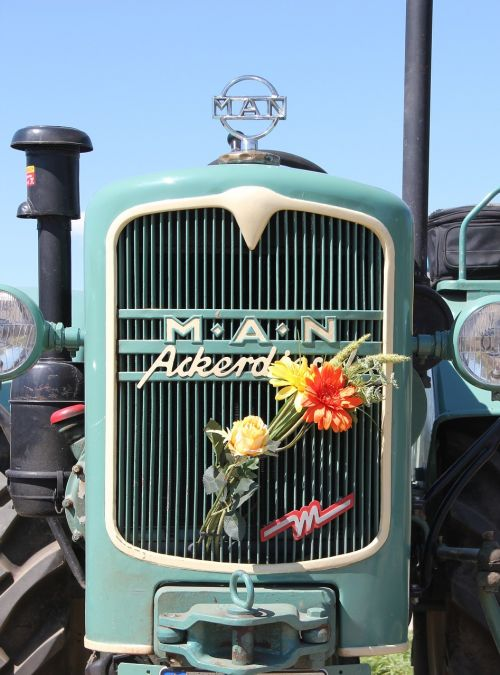 one-acre diesel historically tractor