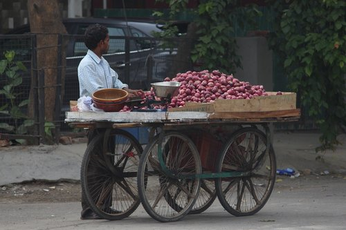 onion  seller  roadside
