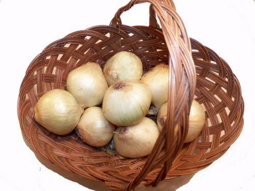 krepšelis, krepšeliai, svogūnai, svogūnai, virėjas, virimo, virtuvė, receptas, receptai, daržovės, maistas, svogūnai