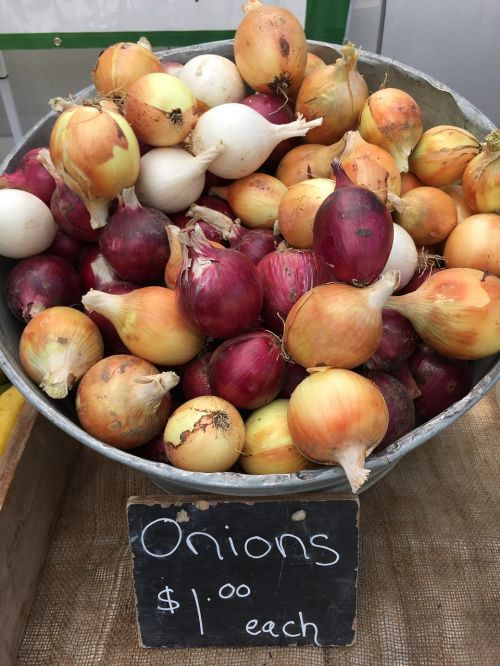 onions yellow onions white onions