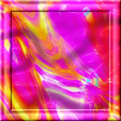 Op Art Frame Color