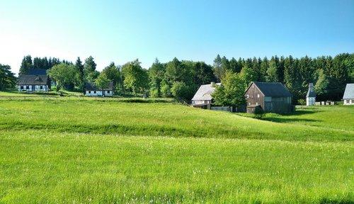 open air museum  seiffen  truss