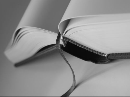 open book close bookmark