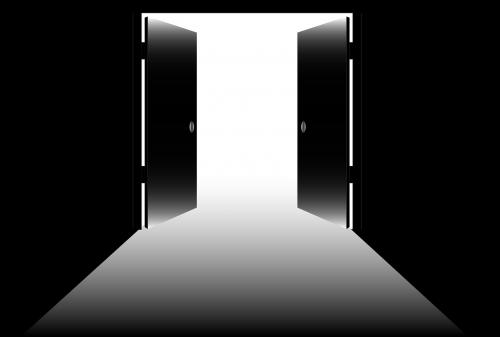 open doors open exit