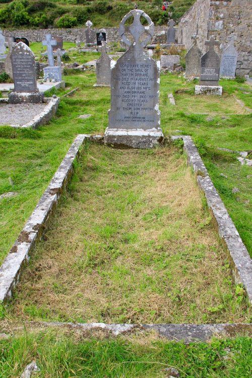 open grave graveyard death