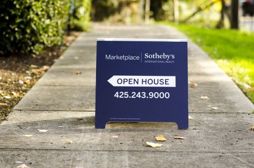 open house sign aboard