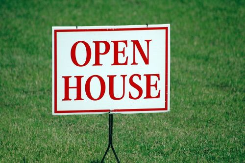 open house sign for sale