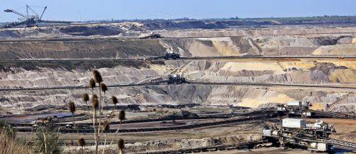 open pit mining open-cast mining inden raw materials