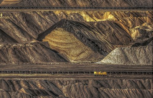 open pit mining raw materials hard coal