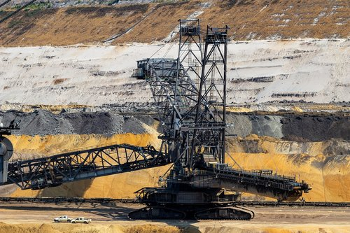 open pit mining  carbon  coal mining