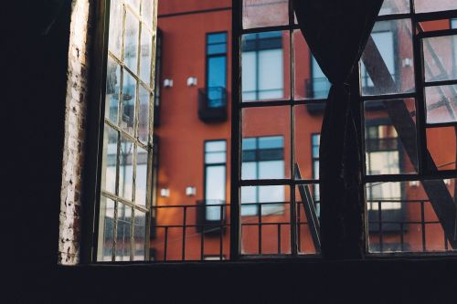 open window air balcony