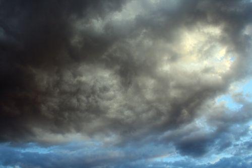 Opening In Dark Clouds
