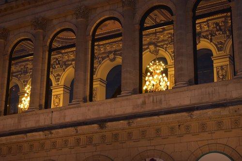 opera  lyon  night