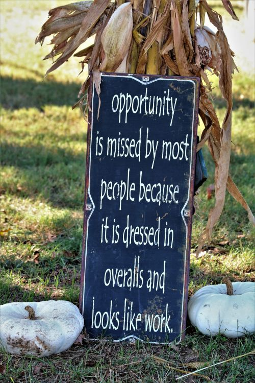Opportunity Sign In Field