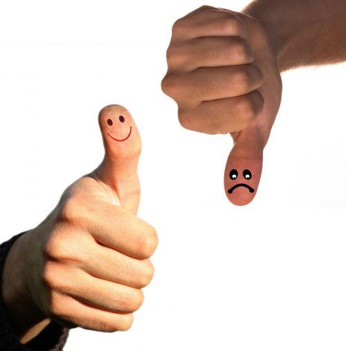 opposites thumb positive