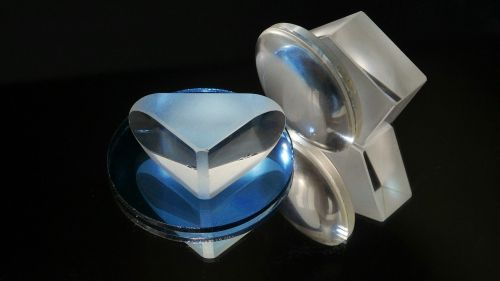 optical elements prism lens