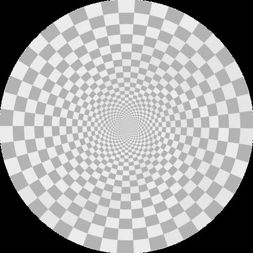optical illusion tunnel circles