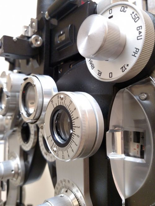 Optometrist Diopter In A Laboratory