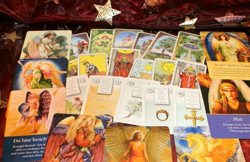 oracle cards fortune telling future interpretation