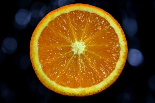 orange the background colors