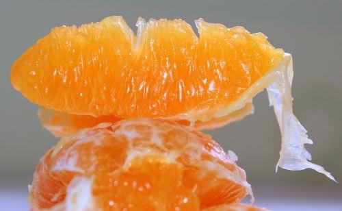 orange fruit pulp