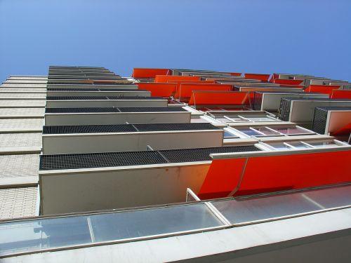 orange sunshade block