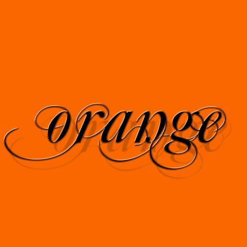 orange tile aesthetics