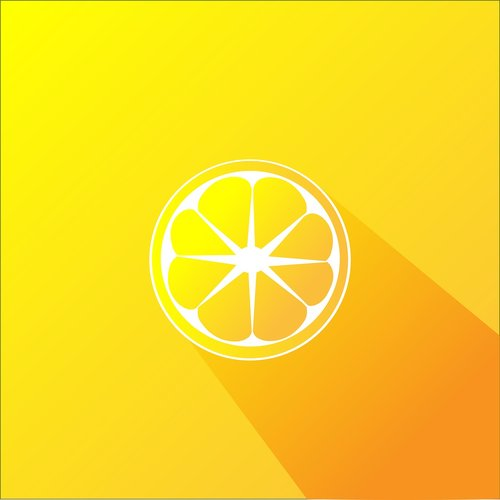orange  design  sun