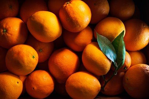 orange  fruit  eat