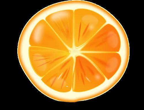 orange citrus sliced