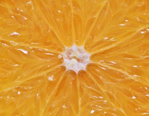 orange citrus fruit pulp