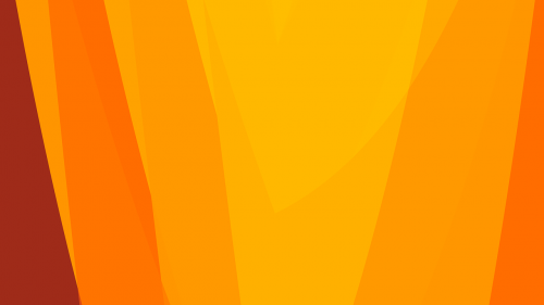 orange abstract lines