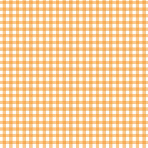 Orange Check Background Pattern