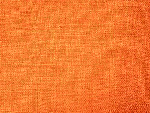 Orange Fabric Textured Background